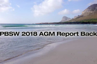 2018 AGM Report Back